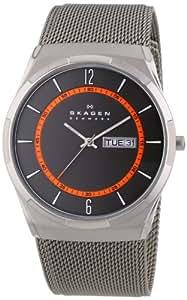 Skagen Herren-Armbanduhr XL Aktiv Analog Quarz Edelstahl beschichtet SKW6007