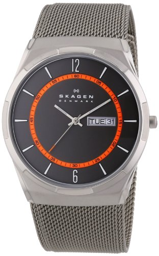 Skagen - SKW6007 - Montre Homme - Quartz Analogique - Bracelet Acier Inoxydable Gris