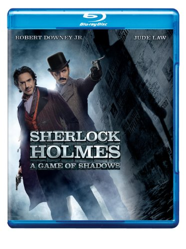Cover art for  Sherlock Holmes: A Game of Shadows [Blu-ray + Ultraviolet Digital copy]