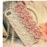 EVTECH(TM) for iPhone 6?4.7 inch) 3D Handmade Fashion Crystal Rhinestone Bling Case Cover Hard Case Clear(100% Handcrafted)