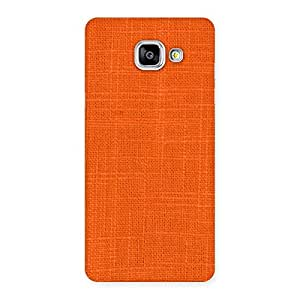 Orange Texture Back Case Cover for Galaxy A5 2016