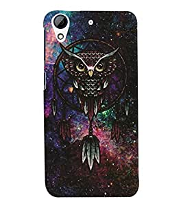 HTC Desire 728 MULTICOLOR PRINTED BACK COVER FROM GADGET LOOKS