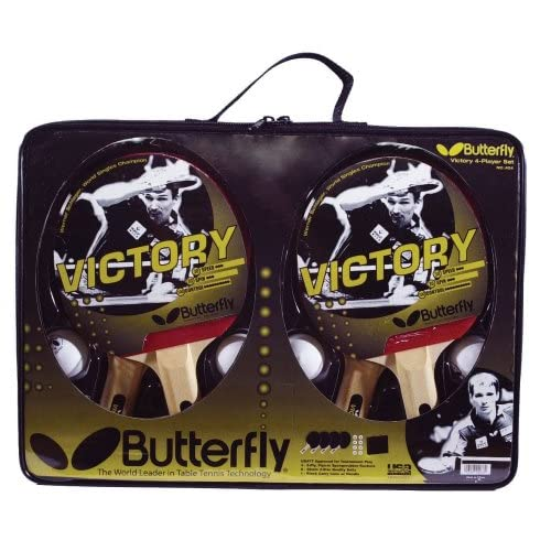 Butterfly Victory 4 Player Table Tennis Set