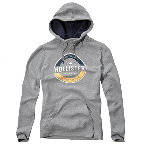 hollister-homme-printed-logo-graphic-hoodie-sweat-a-capuche-sweatshirt-longue-taille-m-gris-62477850