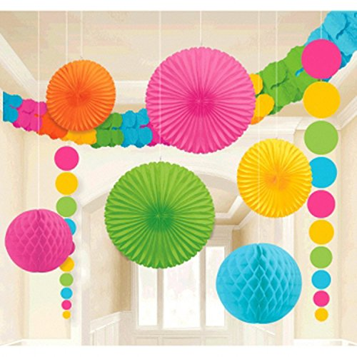 Rainbow Multicolor Decorating Kit - 9 Pieces