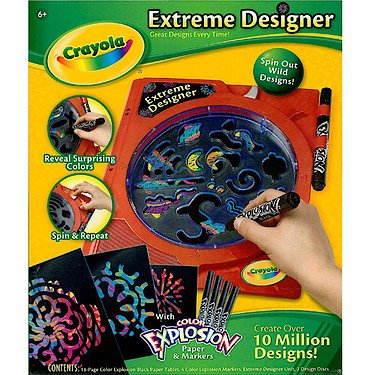 Crayola Extreme Designer with Color Explosion