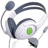 Stereo Headset Kopfhörer mit Mikrofon für Xbox360 LIVE von emall supply