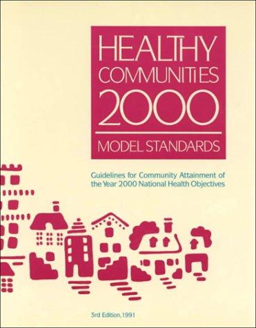 Healthy Communities 2000 Model Standards/013