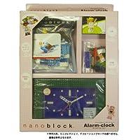 nanoblock (ナノブロック) アラーム付クロック 人形1体・ミニコレクション1個付 デコレーションブロック付 ギフトセット 96902BL-Gセット