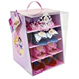 Disney Princess Dress Up Shoes (Cinderella , Aurora , Snow White) and Tiara Set