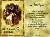 img - for St. Thomas Aquinas Relic Prayer Card book / textbook / text book