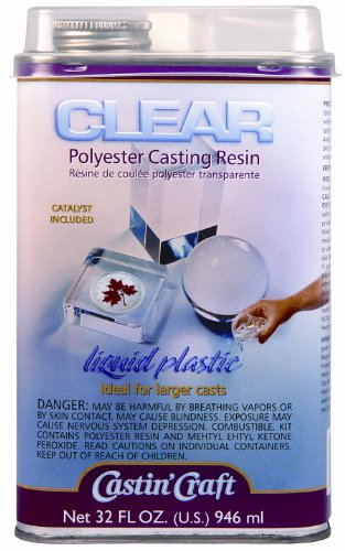 Clear polyester casting resin (Crystal Resin compare prices)