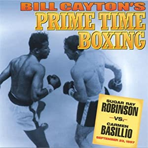 Sugar Ray Robinson vs. Carmen Basilio Radio/TV Program