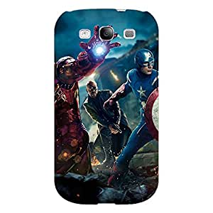 Jugaaduu Superheroes Ironman Back Cover Case For Samsung Galaxy Grand Duos I9082