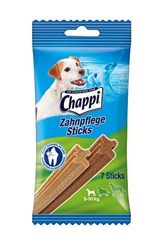 Bild: Chappi ZahnpflegeSticks für kleine Hunde 410kg 7 Stück 5er Pack 5 x 110 g