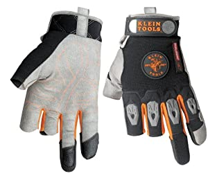 Klein 40057 Journeyman K2 Framer Gloves, Medium
