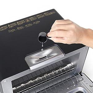バルミューダ スチームオーブントースター BALMUDA The Toaster K01A-KG(ブラック)