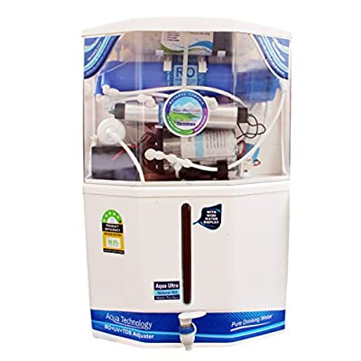 Aquaultra Supreme 15L Storage 14Stage Ro+Uv+Uf+Mineral+Tds Controller Water Purifier