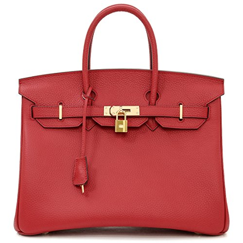 macton-european-and-american-classic-padlock-genuine-leather-top-handle-handbags-mc-1329-35cm-red