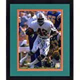 Framed Paul Warfield Miami Dolphins Autographed 8'' x 10'' Run With Ball Photograph with... by