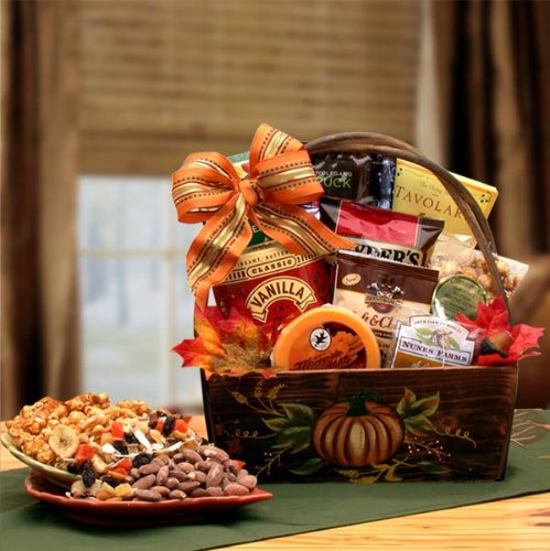 Plentiful Harvest Gourmet: Gourmet Thanksgiving Gift Basket
