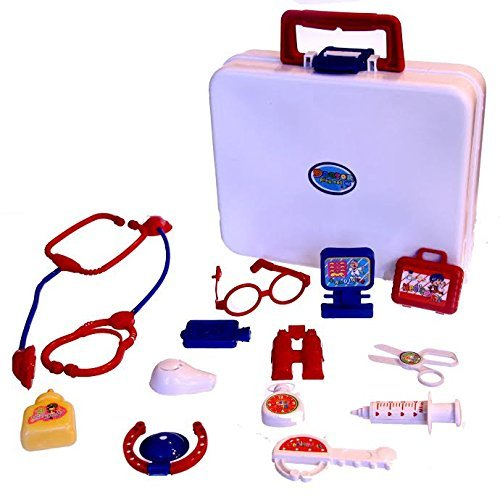 Dazzling Toys Dolls Medical Kit and Set - 15 Piece Set