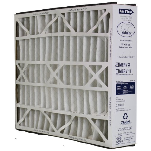 255649-102 20x25x5 Air Bear Supreme 2000 Media Filter Replacement (Air Bear Air Cleaner compare prices)