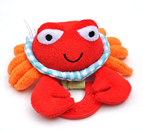 Wristy Buddy Teething Wristband, Crab - 1