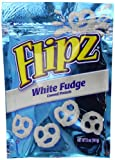 Pretzel Flipz White Fudge Covered Pretzels 141 g (Pack of 2)