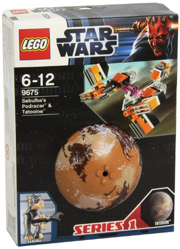 レゴ (LEGO) スター・ウォーズ セブルバのポッドレーサー(TM)と惑星...