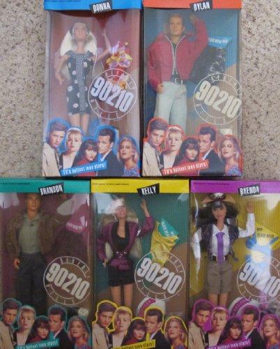Barbie BEVERLY HILLS 90210 Doll SET of 5 w Donna Martin