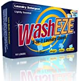 WashEZE 3-in-1 Laundry Sheets - 20 Count, Original Scent