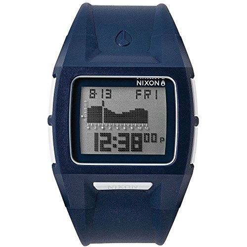 Nixon Lodown II Digital Dial Navy Polyurethane Mens Watch A289307 (Lodown Ii compare prices)