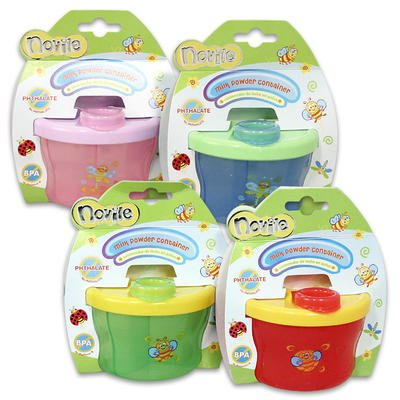 "Novile 3""H Milk Powder Container (Random)"