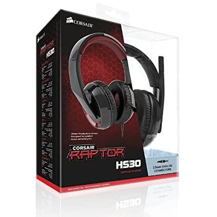 Corsair CA-9011121-NA-Y Raptor HS30 Analog Gaming Headset
