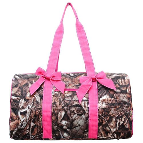 Natural Camo Quilted Duffle Bag Hp (Quilted Duffle Bags Under $20 compare prices)