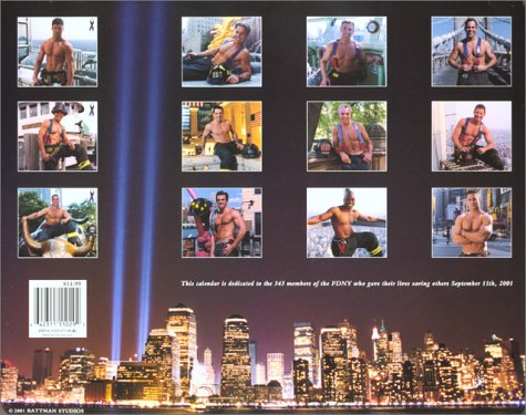 Fdny Firefighters 2003 Calendar of Heroes
