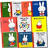 Miffy Classic Library Collection 10 Books set pack (Miffy Dances, Miffy in the Garden, Miffy's Bicycle, Miffy at the Zoo and moreby Dick Bruna