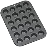 Baker's Secret 116424001 Basics Nonstick 24-Cup Mini Muffin Pan