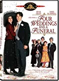 Four Weddings and a Funeral DVD on Amazon