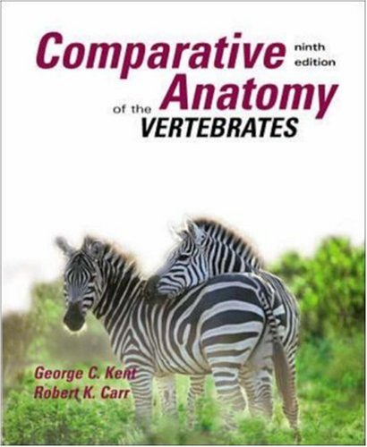 Comparative Anatomy of the Vertebrates