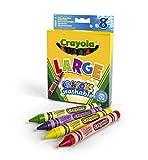 Crayola - 8 Washable Crayons