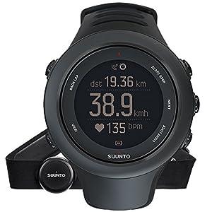 Suunto - Ambit3 Sport HR - Reloj de Entrenamiento GPS + Cinturón de frecuencia cardiaca de Suunto
