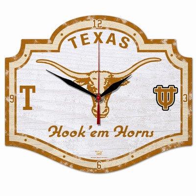 NCAA College Vault Texas Longhorns High Definition Clock