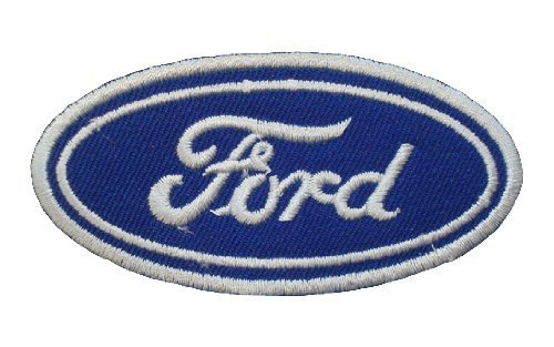 ecusson-brode-patch-ford-motors-pickup-retro-cars-racing-blue-logoembroidered-iron-or-sew-on-patch-b