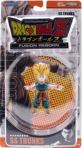 Picture of Jakks Pacific Dragon Ball Z Fusion Reborn SS Trunks Action Figure (B000ROPRIO) (Dragon Ball Action Figures)