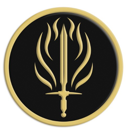 Dark Horse Deluxe Dragon Age II Embroidered Patch: Templars - 1
