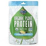 Garden of Life Organic Protein Powder - Vegan Plant-Based Protein Powder, Vanilla, 9.1oz (258g) Powder