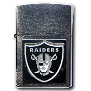 NFL Oakland Raiders Zippo Lighter by Siskiyou Gifts Co, Inc.