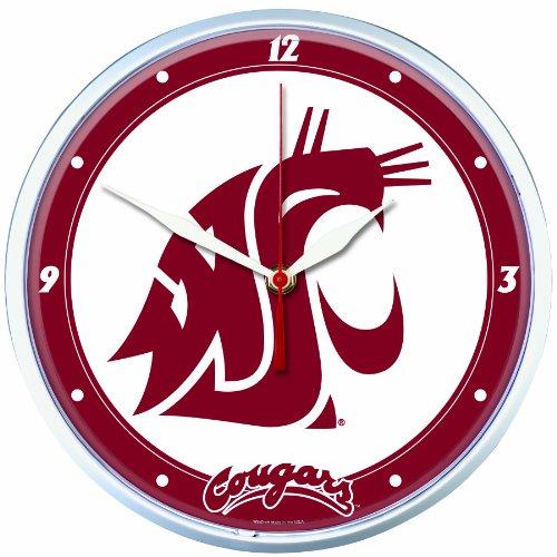 NCAA Washington State Cougars Round Clock
